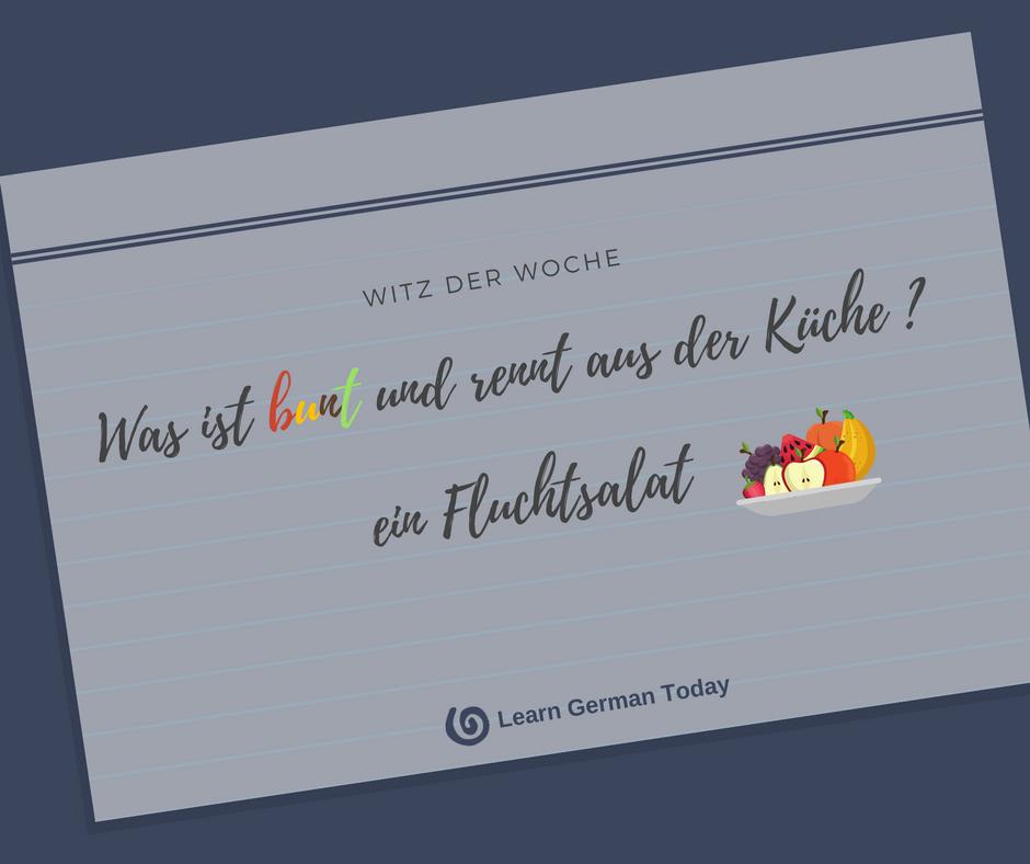 Witze für Deutschlerner