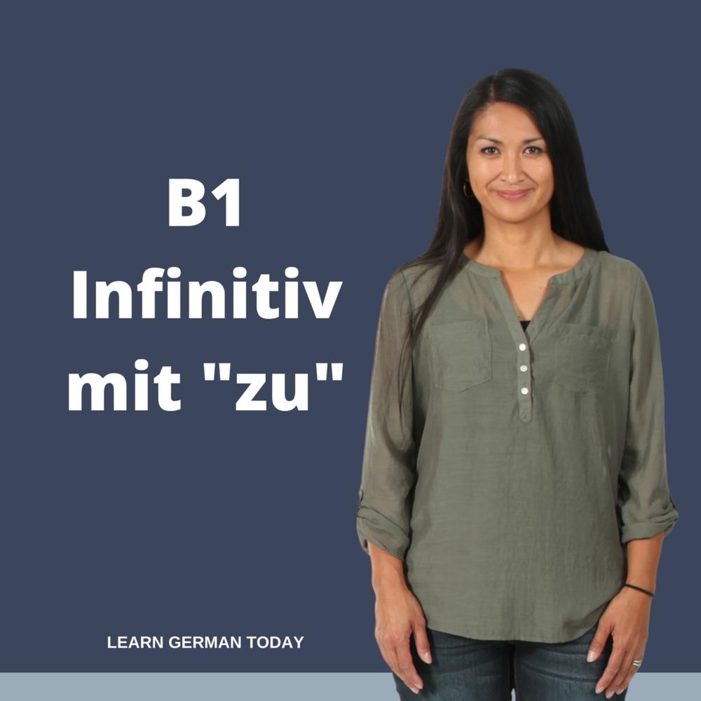 """Infinitiv mit """"zu"""""""