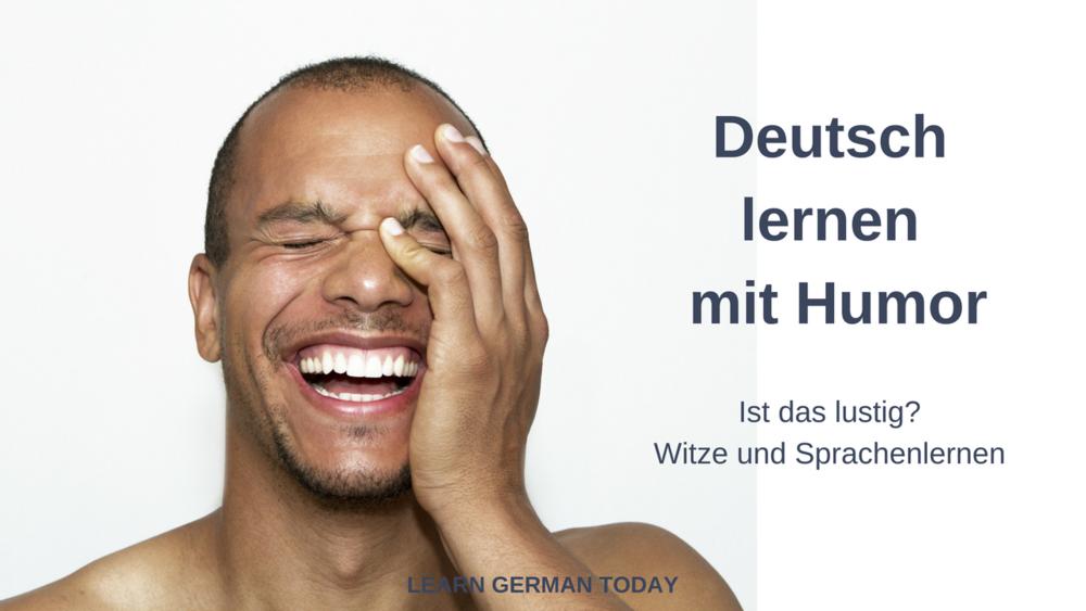 Deutsch lernen mit Humor