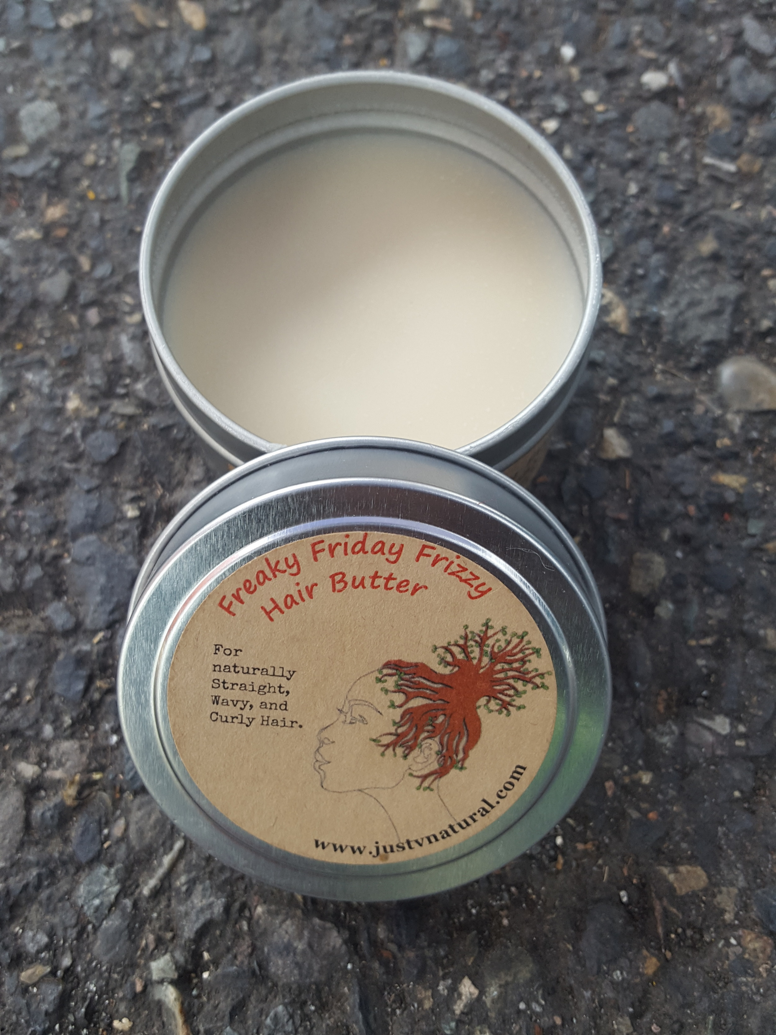 Freaky Friday Frizzy Hair Butter — Just V Natural