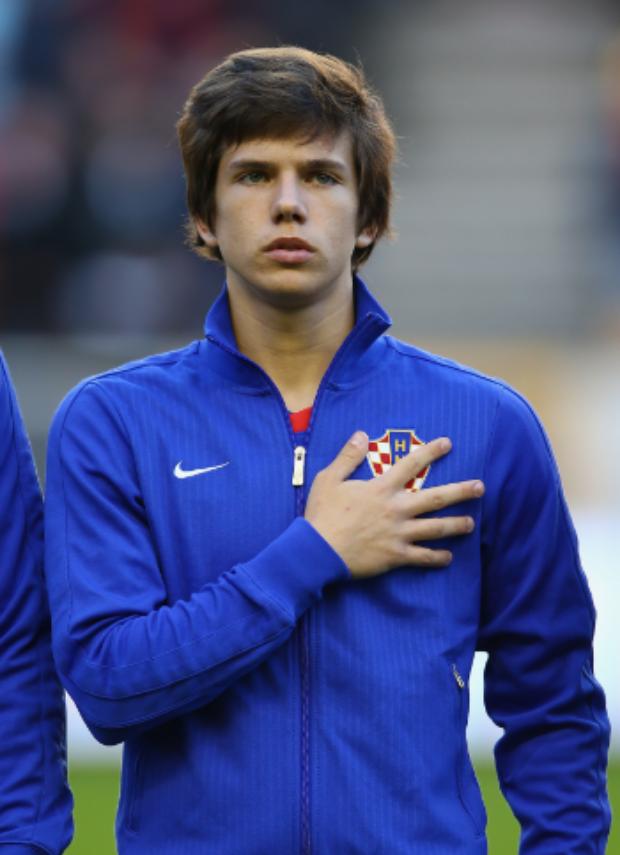 TALENT 19-årige Ante Ćorić' er udråbt som den næste store kroatiske stjerne – Foto: Clive Brunskill/Getty Images