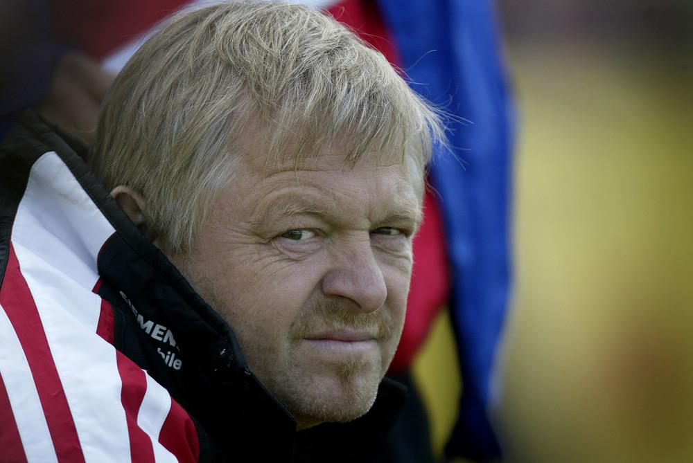 Poul Erik Andreasen er kendt som den centrale kompetence i både AaBs talentudvikling, scouting af de rigtige spillere og udviklingen af spillemæssig filosofi. Foto: Lars Rønbøg/Getty Images