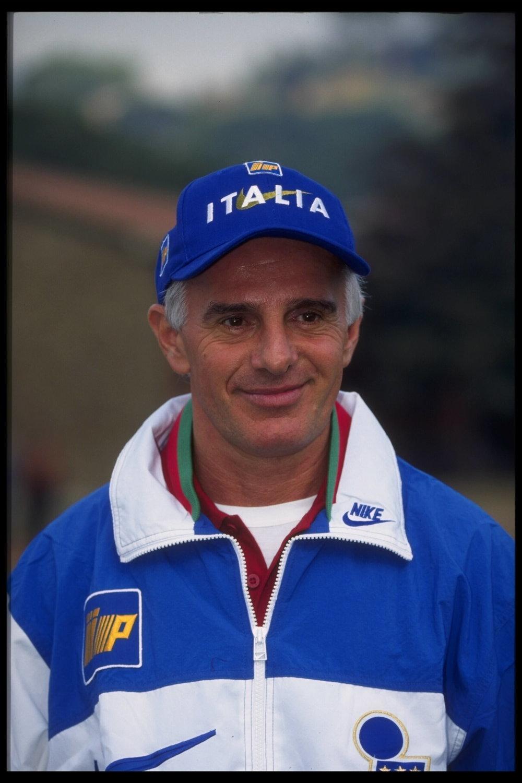 Arrigo Sacchi inspirerede generationer med sit arbejde hos Parma og AC Milan. Her fra sin periode som italiensk landstræner. Foto: Getty Images