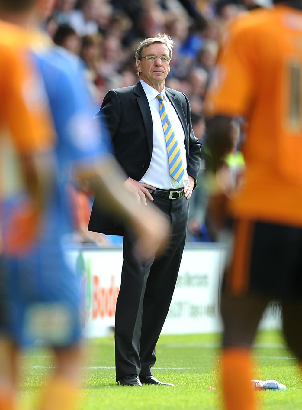 Graham Turner skulle hentes ind som manager fra manglende succes i Aston Villa. Foto: Getty Images/Chris Brunskill