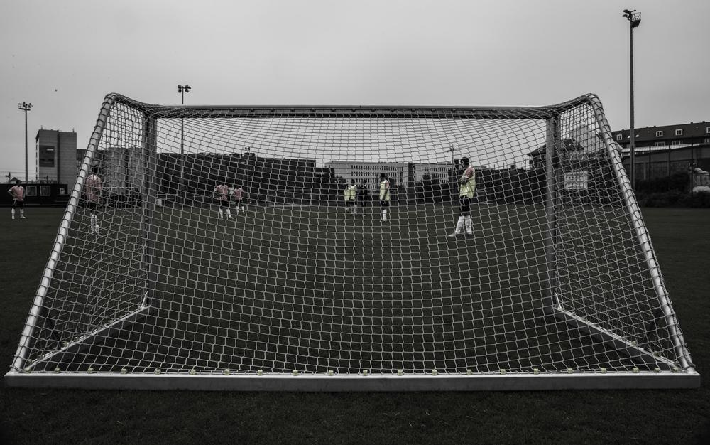 Fodbold er den mest populære sportsgren i Grønland, og landet har omkring 5.000 registrerede fodboldspillere. Foto: Malte Lillelund Nørgaard.