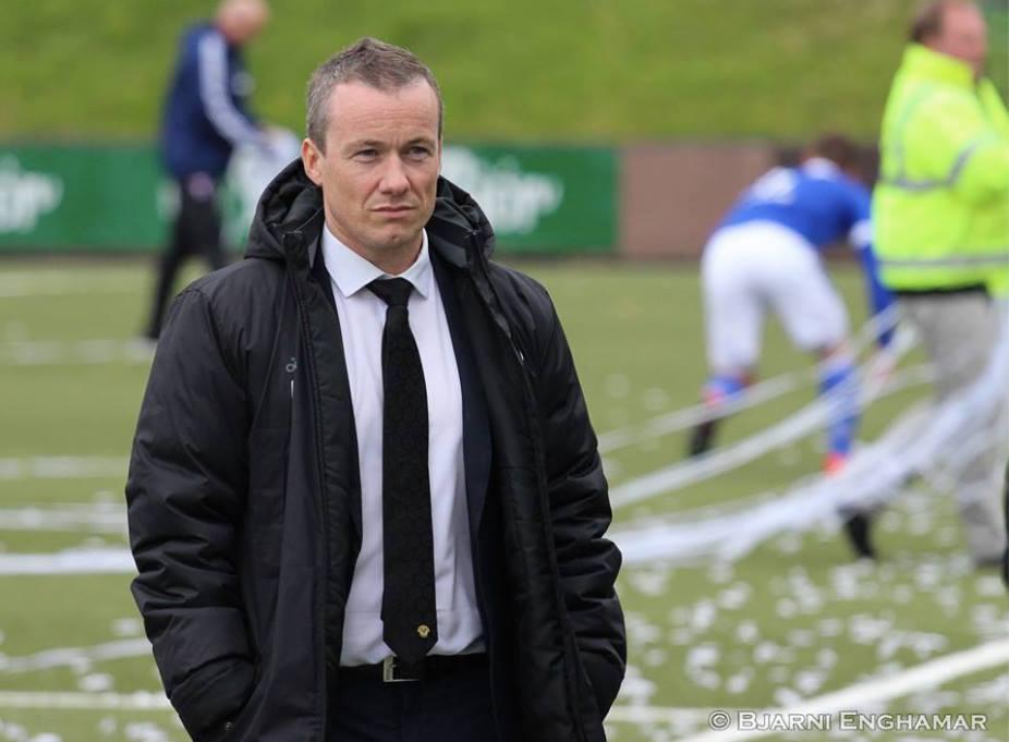 Eyðun Klakstein er træner for B36.