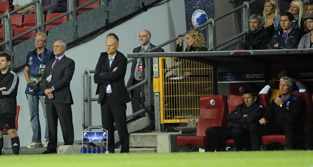 Koblingen var uhyre tæt, da Flemming Østergaard stod bag Ståle Solbakken og budgettet havde 'løs overkant'. Foto: Getty Images/Lars Rønbøg