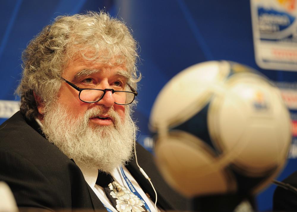 Chuck Blazer var FIFA-manden og den hemmelige agent, der fik skandalen til at rulle hurtigt. Foto: Getty Images/Shaun Botterill.