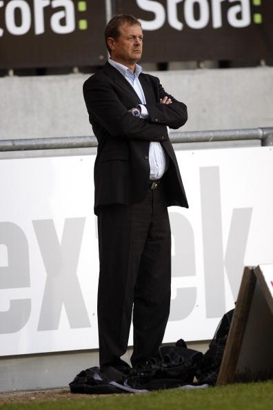 Kim Brink var både U19, førsteholdstræner og sportsdirektør i OB. Foto: Getty Images/Lars Rønbøg