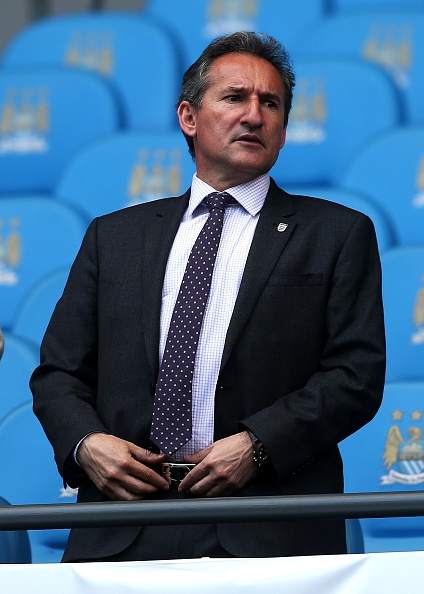 I Manchester City har en sportsdirektør i Txiki Begiristain. Foto: Getty Images/Chris Brunskill.