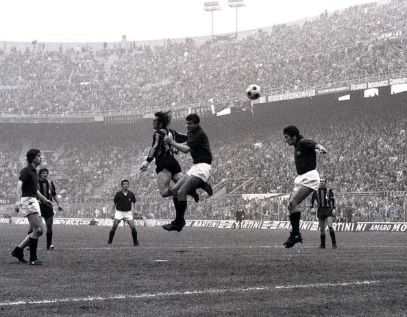 Inter var store dengang i 60'erne og 70'erne. Her med Roberto Bonsegna. Foto: Getty Images/Popperfoto.