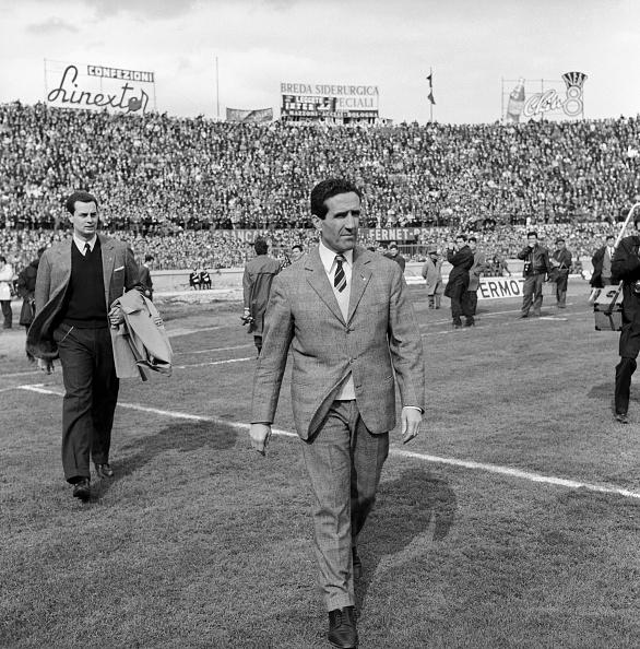 Helenio Herrera, en af Italiens taktiske godfathere med oprindelse i Sydamerika. Foto: Getty Images.