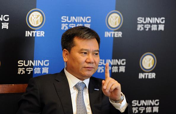 Nye tider venter Inter med Suning som ejere og Zhang Jindong. Foto: Getty Images/Pier Marco Tacca.
