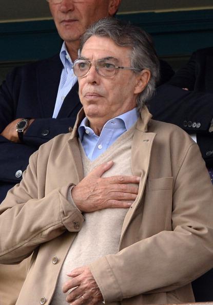 Massimo Moratti. Foto: Getty Images/Claudio Villa.