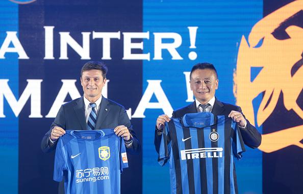 Inter på kinesisk - og på europæisk. Foto: Getty Images/VCG