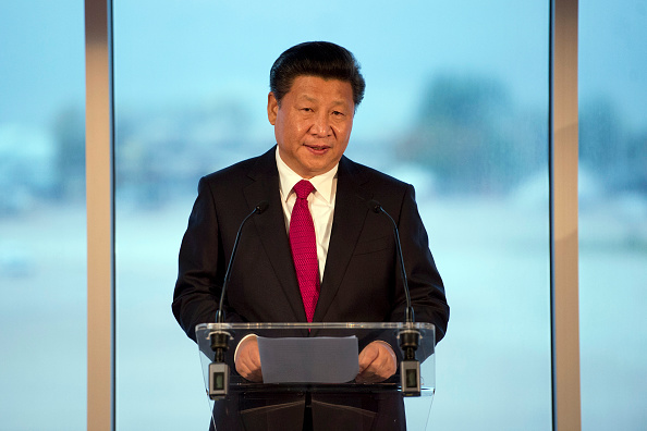 Xi Jinping satte drømmen i søen i 2011. Foto: Getty Images.
