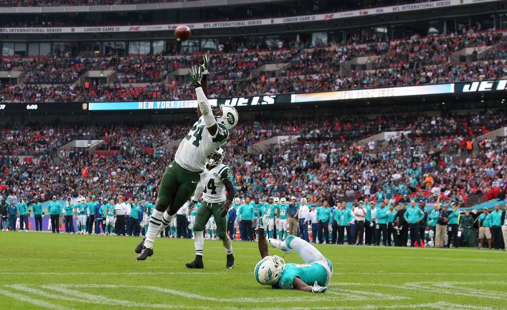 NFL-kamp på Wembley - måske bliver det med modsatrettet fortegn i løbet af de kommende år.  Foto: Mike Marsland/Getty Images