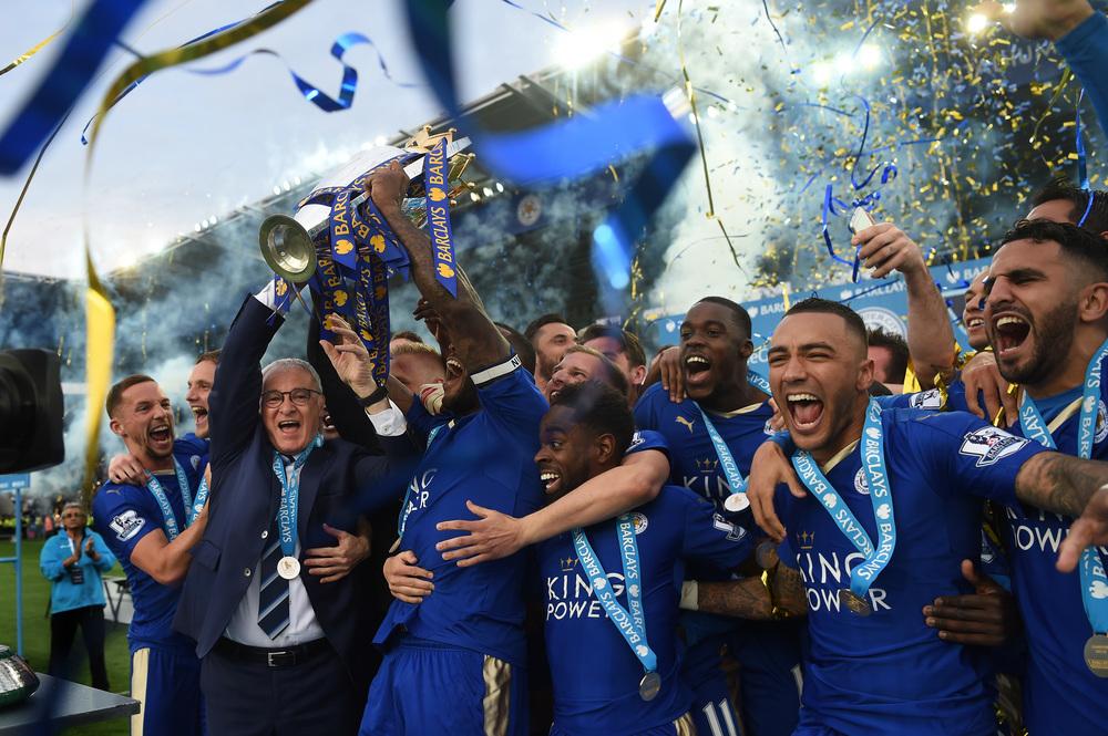 Leicester gjorde det, FSG drømmer om: at vinde det engelske mesterskab med et markant mindre lønbudget end de store.   Foto: Michael Regan/Getty Images