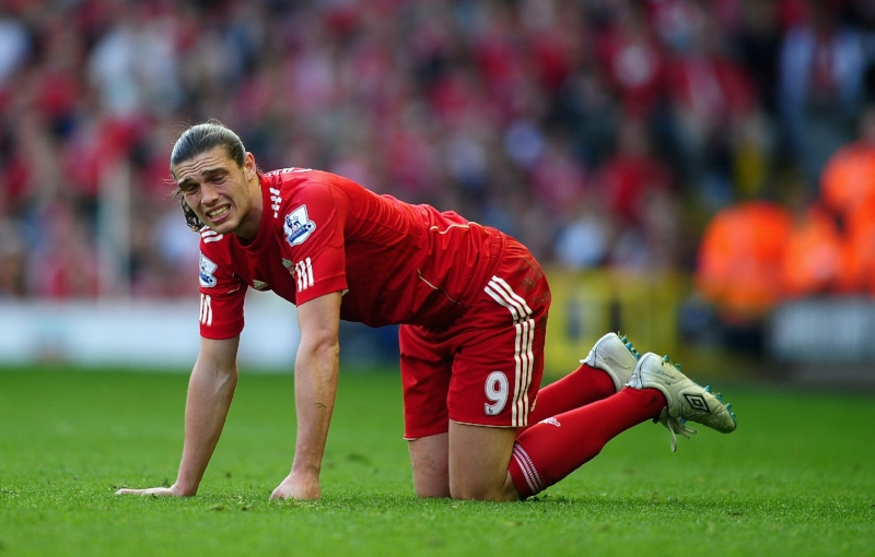Andy Carroll - det blev aldrig helt godt med ham i Liverpool. Foto: Laurence Griffiths/Getty Images