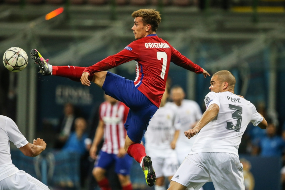 Antoine Griezmann er gået fra superspiller til verdensstjerne under Diego Simeone.   Foto: Getty Images