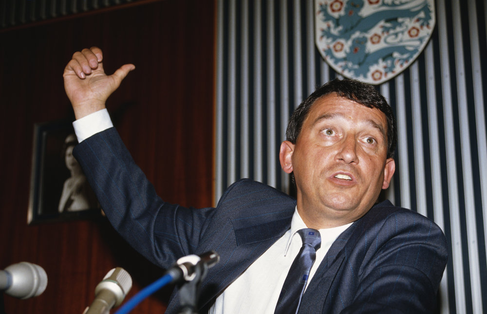 Graham Taylor som England manager. Foto: Getty Images