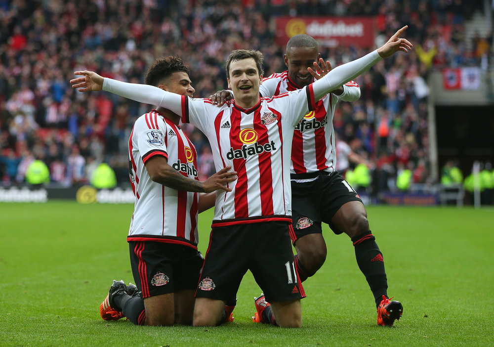 Adam Johnson har scoret mod Newcastle. Foto: Getty Images/Ian MacNicol