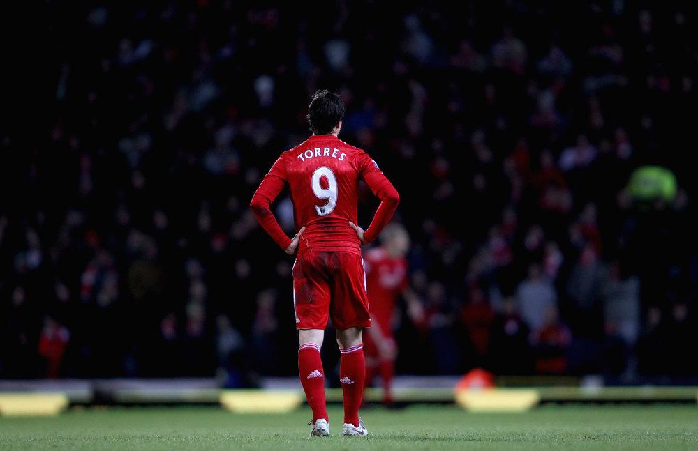 Fernando Torres forsones med Liverpool og tilhængerne med ham i Simon Hughes' bog.   Foto: Getty Images