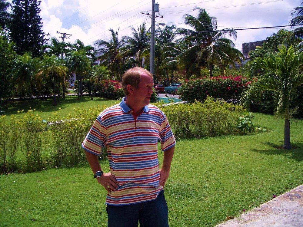 Cubas tyske landstræner, Reinhold Fanz.