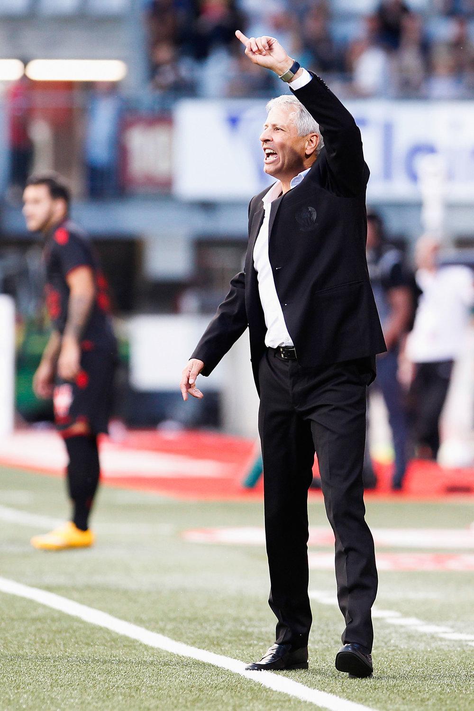 Lucien Favre var hurtigt på plads i Nice. Foto: Getty Images