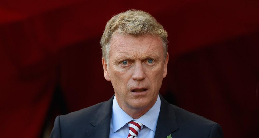Manager David Moyes er blevet beskyldt for at være handlingslammet.   Foto: Getty Images