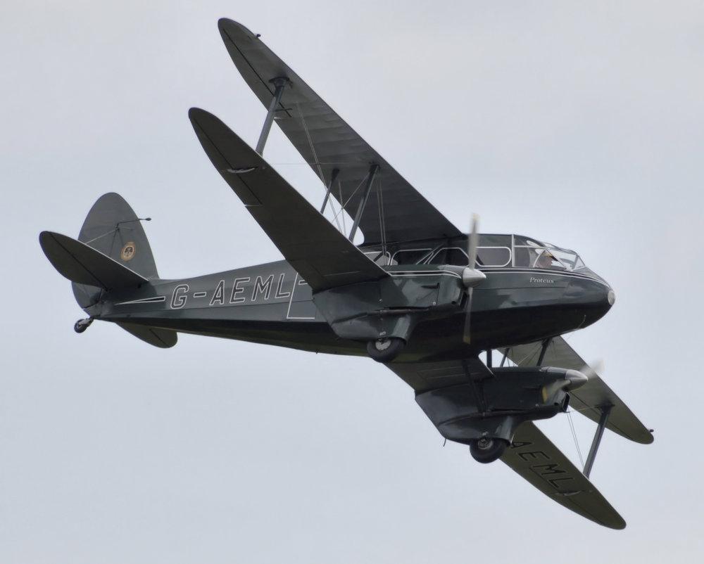Det var et fly af denne type, der styrtede ned kort efter takeoff i Københavns Lufthavn.