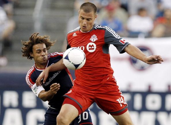 Det værste hold i verden, mente Danny Koevermans (i rød trøje) om sit eget hold. Foto: Getty Images/Winslow Townson.