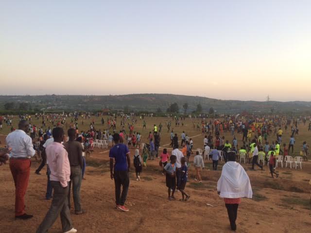 Efter kamp i Rwanda: Foto: Anders Ellegaard Jacobsen