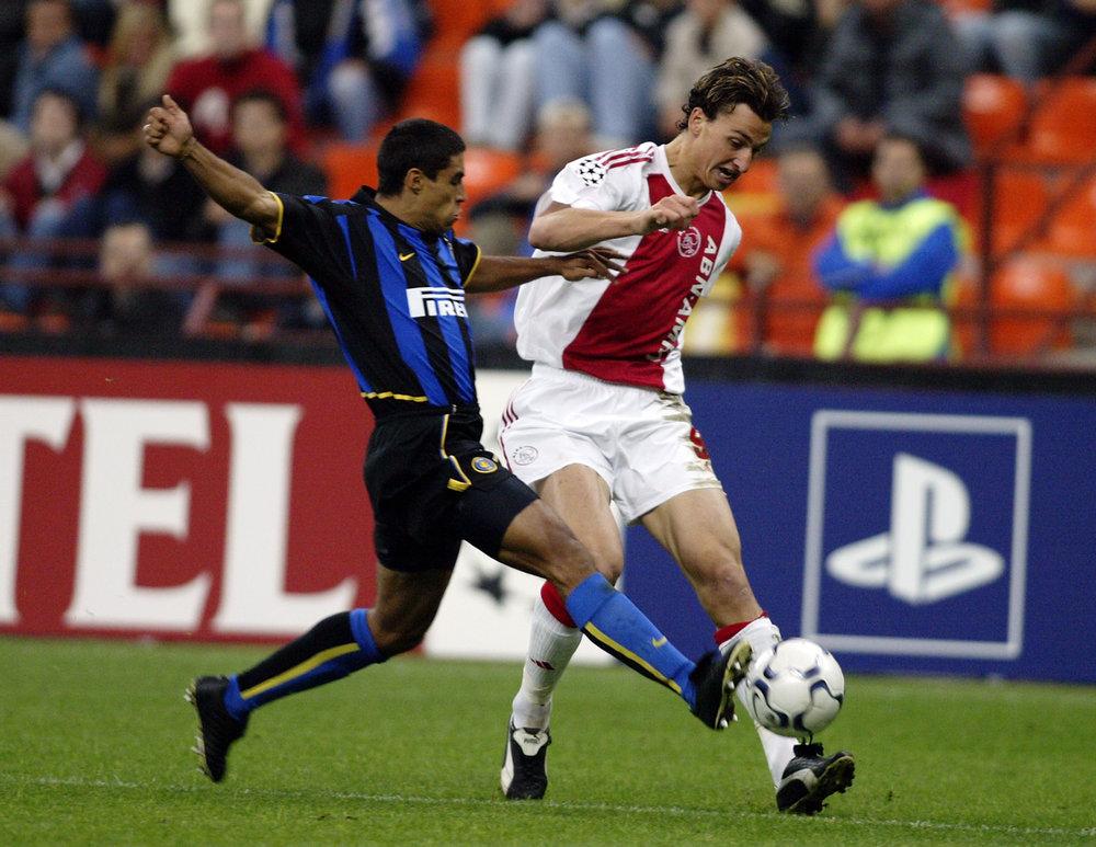 Zlatan Ibrahimovic fik sit internationale gennembrud i Ajax, hvor han spillede i tre sæsoner, inden han blev solgt til Juventus i 2004. Foto: Getty Images