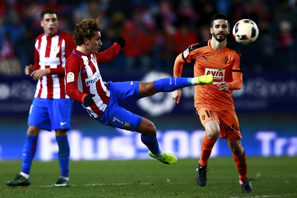Spørgsmålet er, hvor længe Atletico kan holde på Antoine Griezmann. Foto: Getty Images