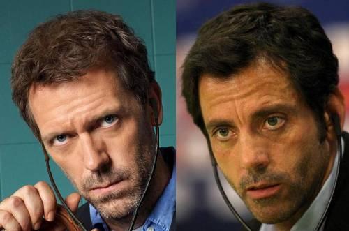 Ifølge Jonathan Hartmann ligner Espanyols cheftræner Quique Sanchez Flores den fiktive Dr. House kendt fra TV-serien. Døm selv.