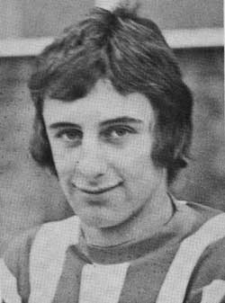 En meget, meget ung Joe Bolton.
