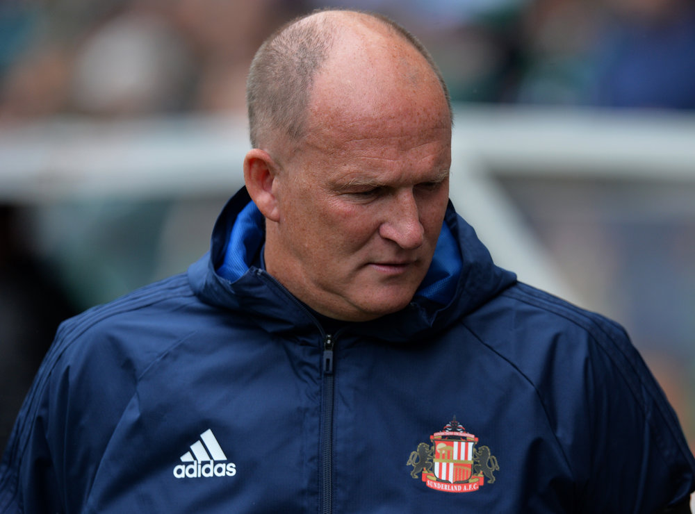Simon Grayson står i spidsen for Sunderland i den kommende sæson. I alle tilfælde begyndelsen af den.   Foto: Getty Images