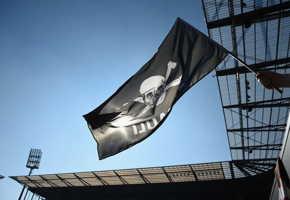Symbolet som ses overalt i bydelen. Foto: Getty Images