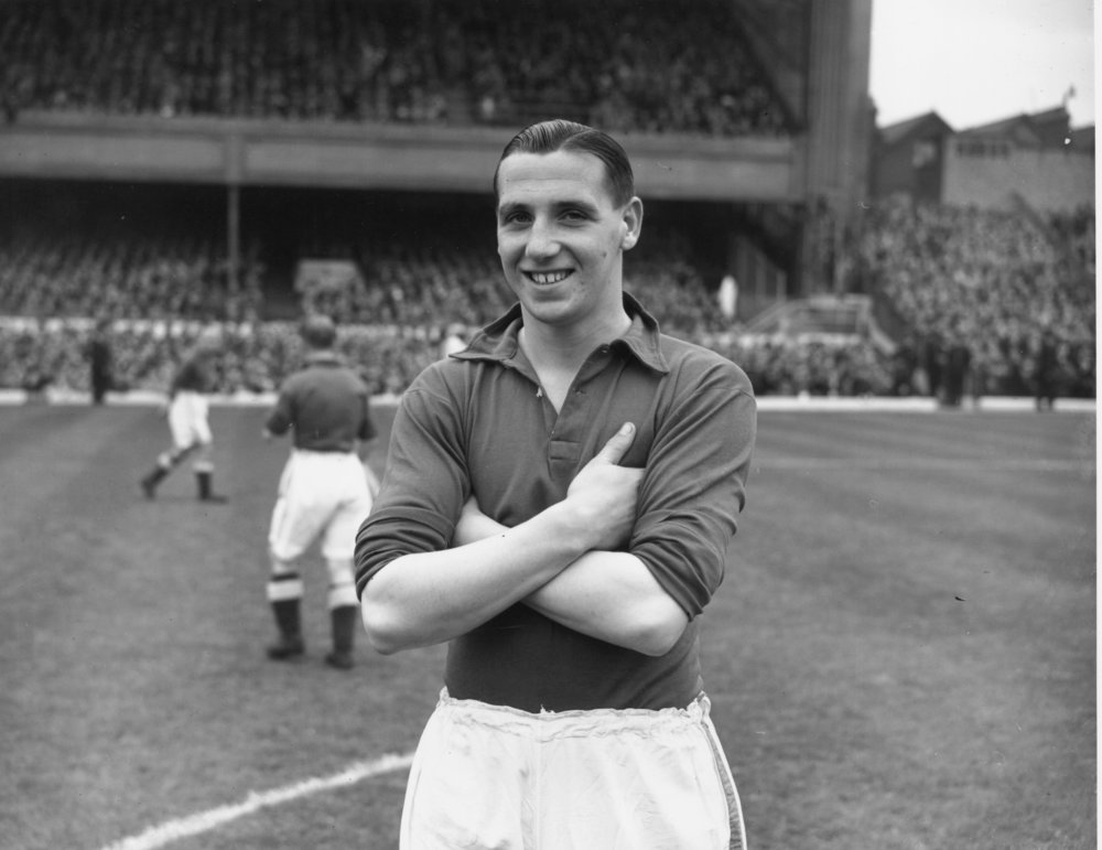 Tommy Lawton. Foto: Hudson/Topical Press Agency/Getty Images.