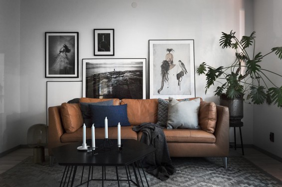FULL OF DETAILS,  WARM AND COZY, CONTRASTS OF BROWN AND GREY.
