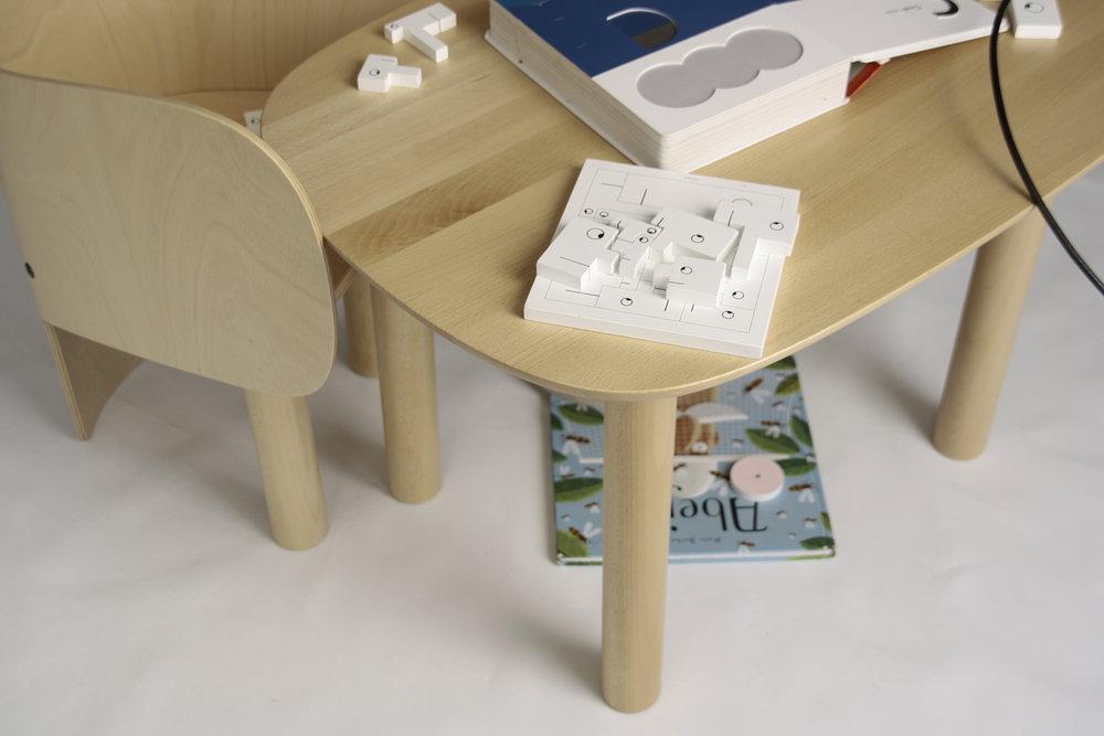 Elements Optimal, a Danish brand designing special furniture for kids.