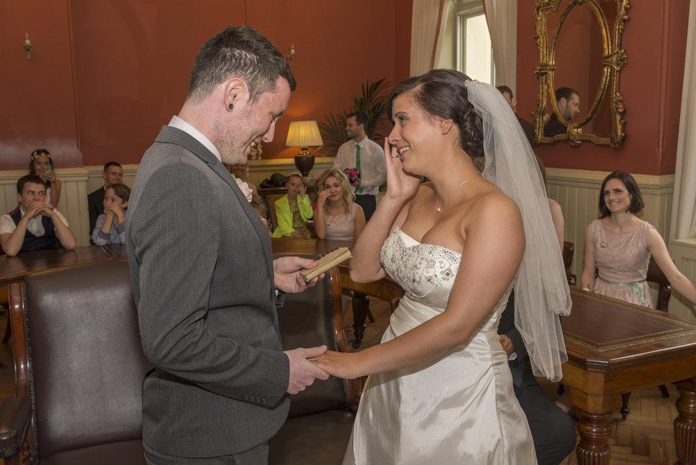 Wedding Photography - Brighton, Town Hall 2