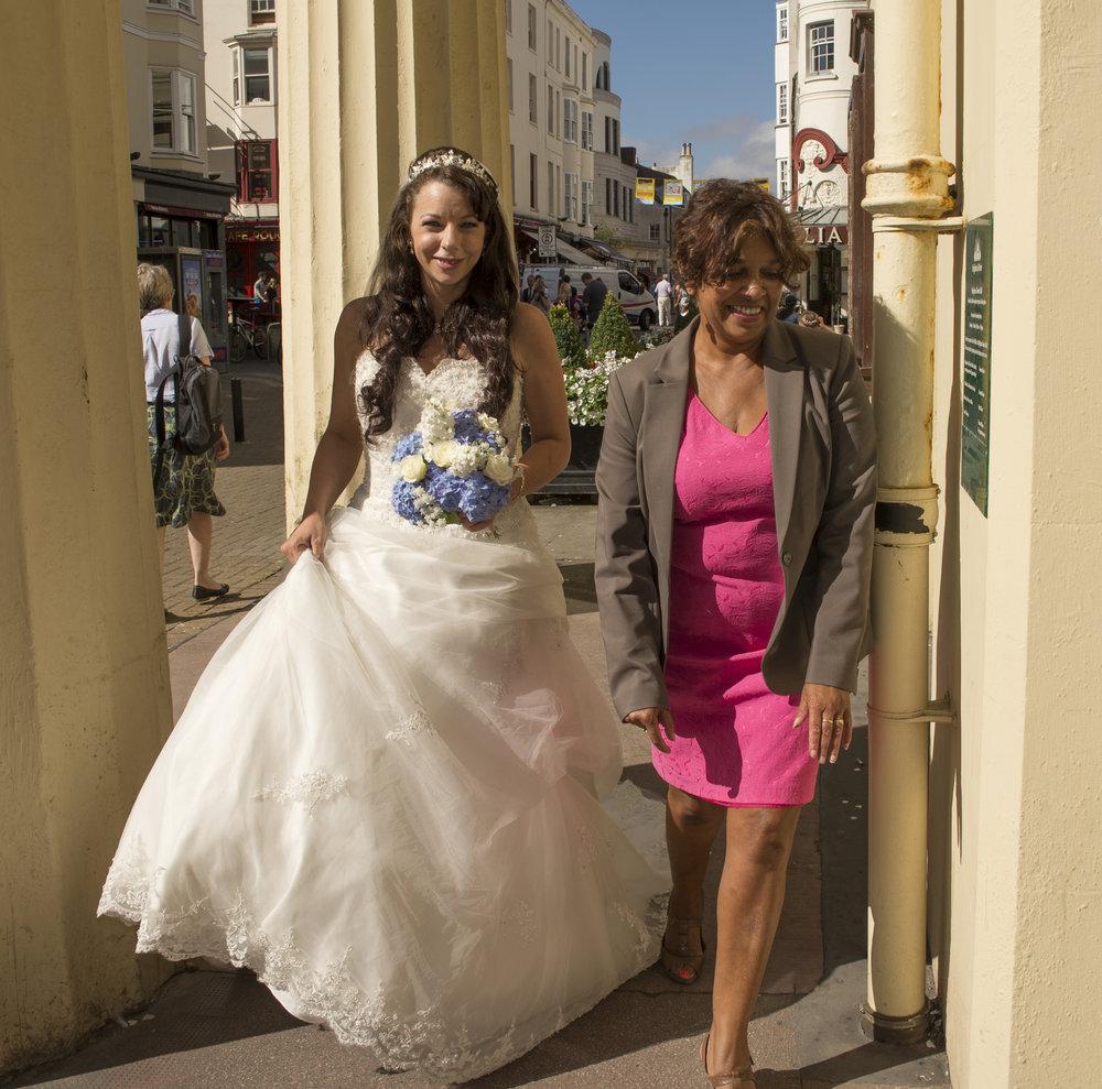 Wedding Photography - Brighton, Town Hall 9