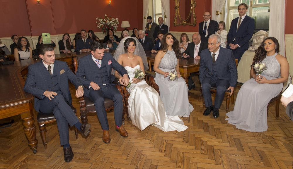 Wedding Photography - Brighton, Town Hall 17