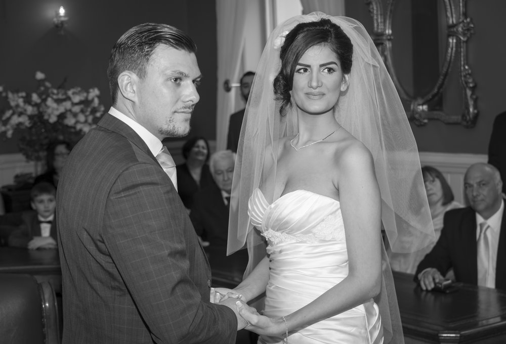 Wedding Photography - Brighton, Town Hall 18