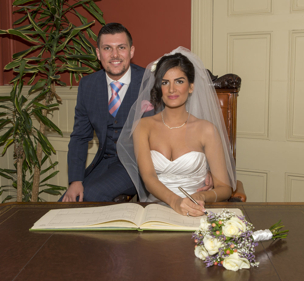 Wedding Photography - Brighton, Town Hall 20