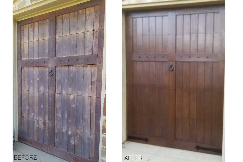 garage door refinishing & Home u2014 Coastal Door Refinishing