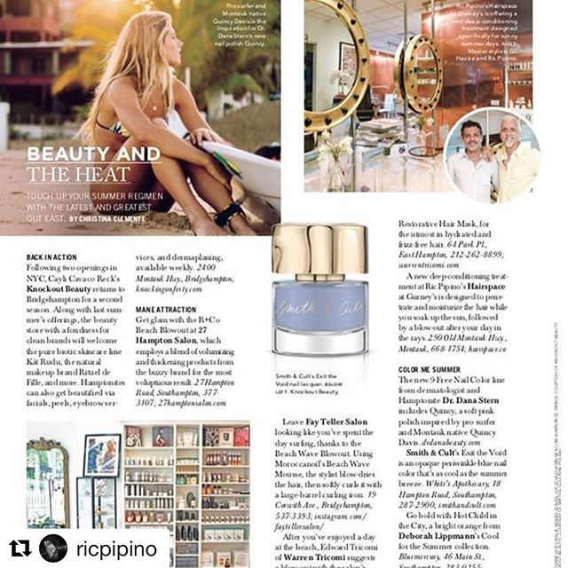 #Repost @ricpipino (@get_repost) ・・・ #Repost thanks Christina for the lovely mention in #hamptonsmagazine @christinaclemente  Out east this weekend? Th@hamptonsmag #hamptons #beautyinspo #hair #montauk @hairspace.co @gurneysmontauk