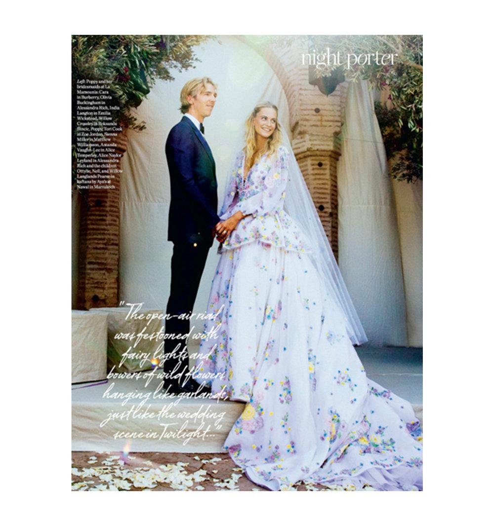 Bridal Muse: Poppy Delevingne — Bohemian Prints